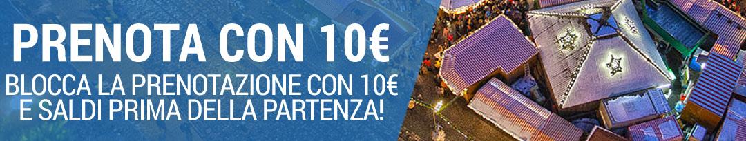 prenota con 10 euro mercatini