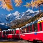 Trenino Rosso del Bernina e Gita in Carrozza