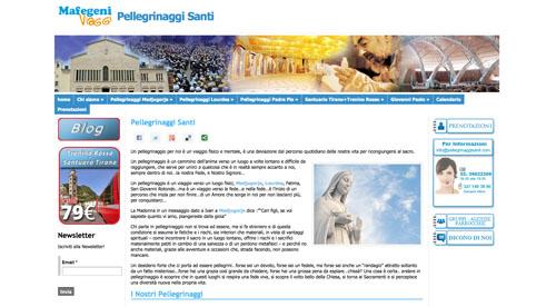 Pellegrinaggi Santi