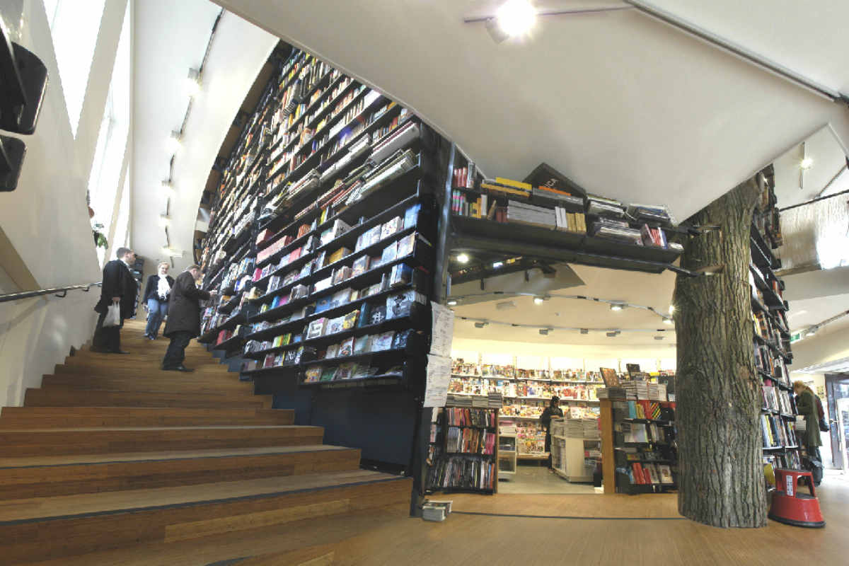 Amsterdam gratis- The American Book Center