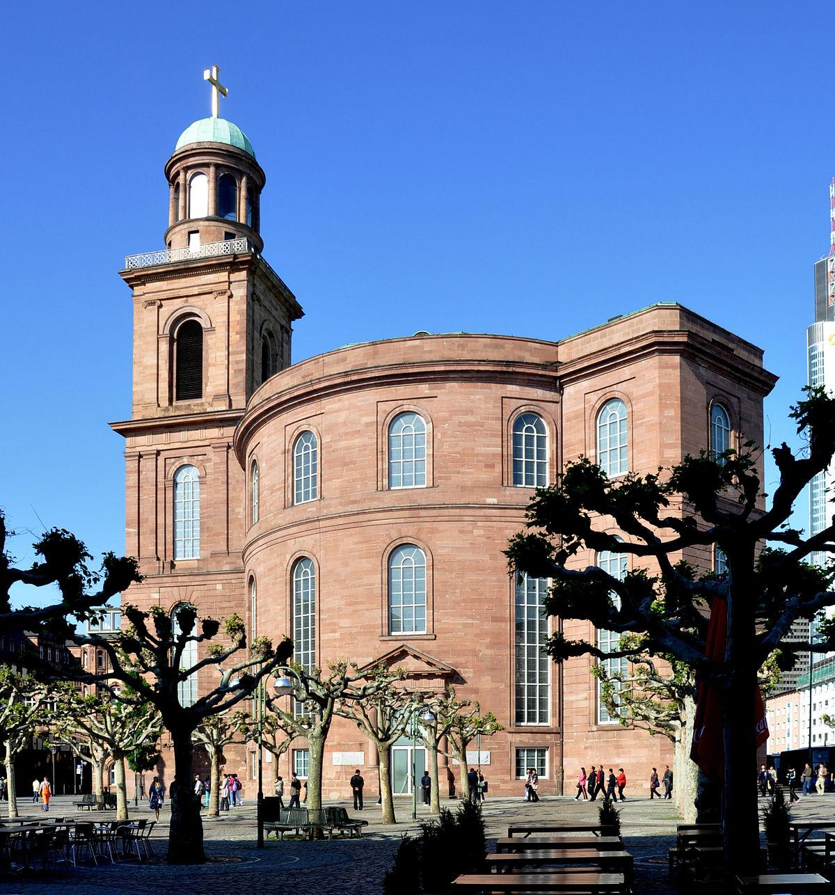 Chiese di Francoforte- Chiesa di San Paolo