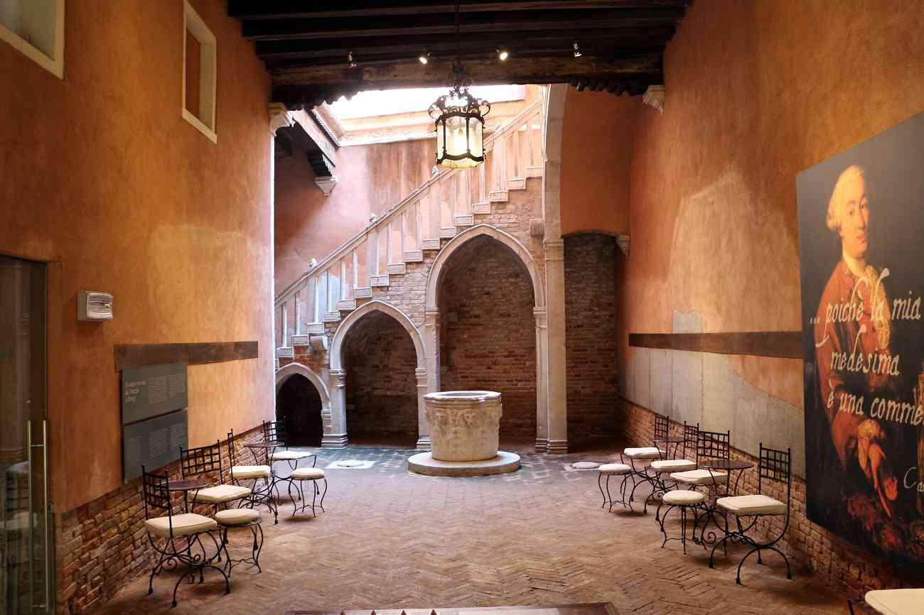 Casa Goldoni- Cortile interno