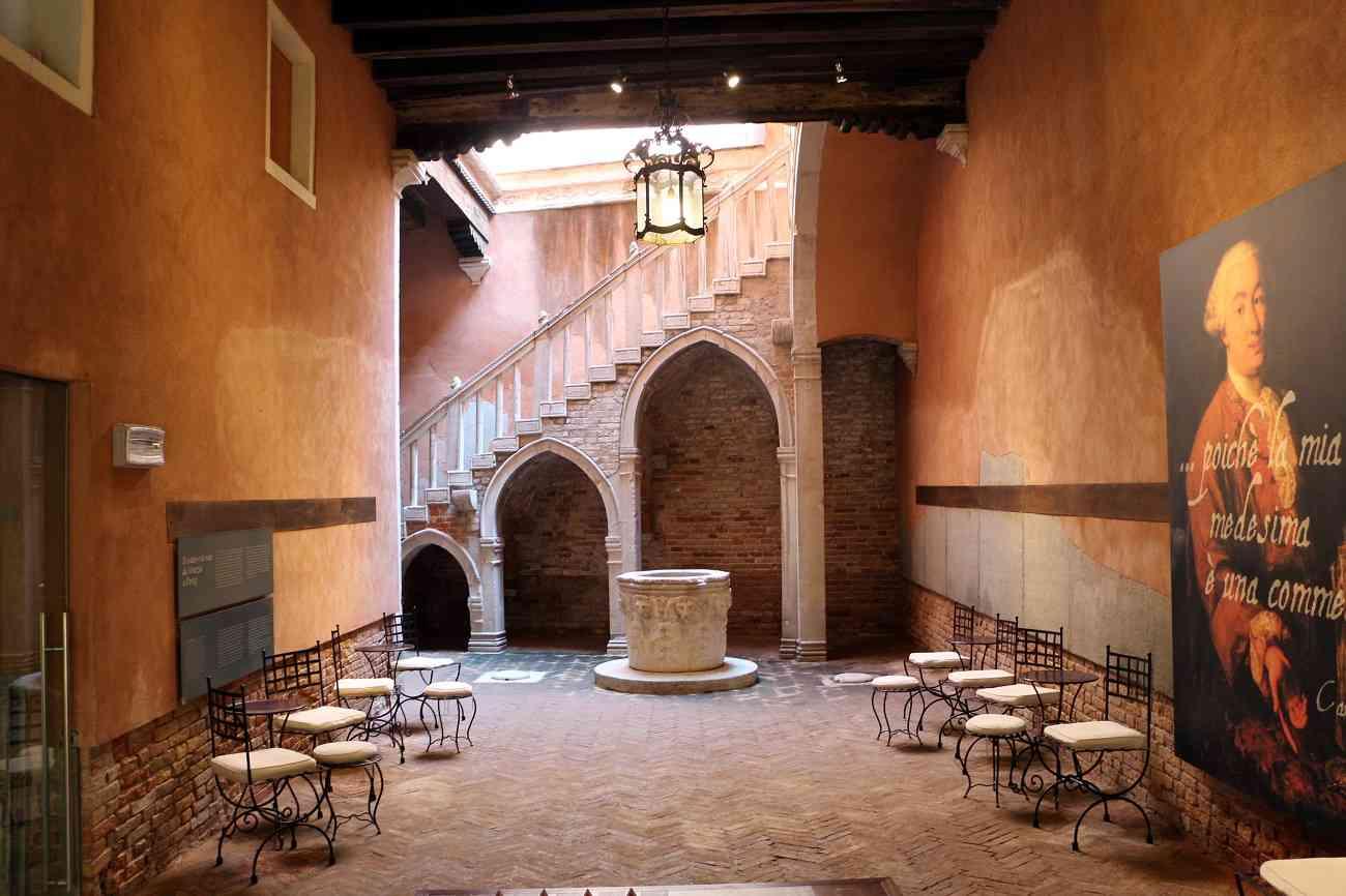 Visitando Casa Goldoni a Venezia