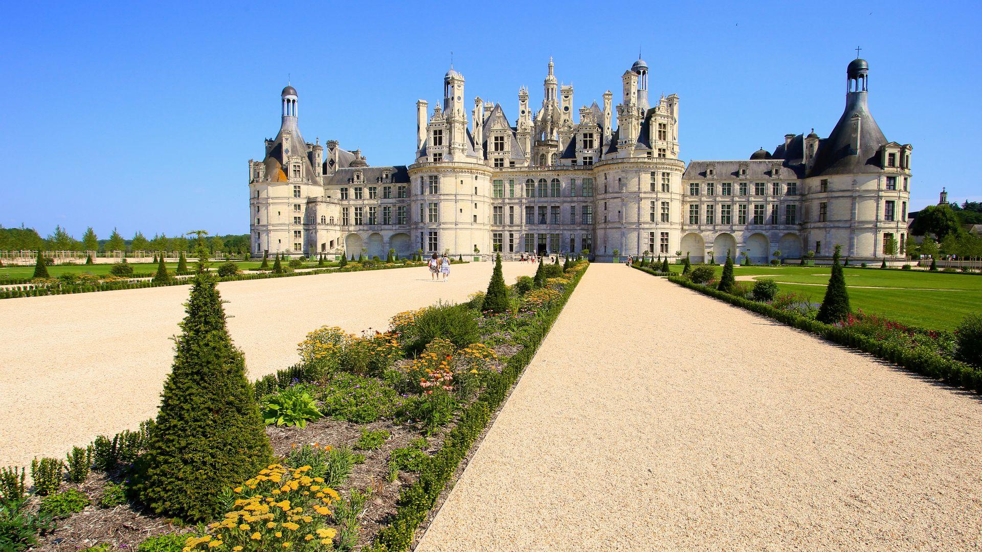 Giardini di Chambord- Scorcio