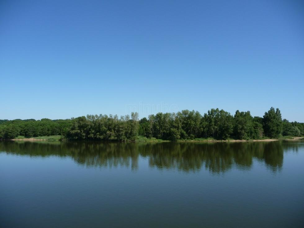 Itinerari tematici della Loira- Vista sul fiume