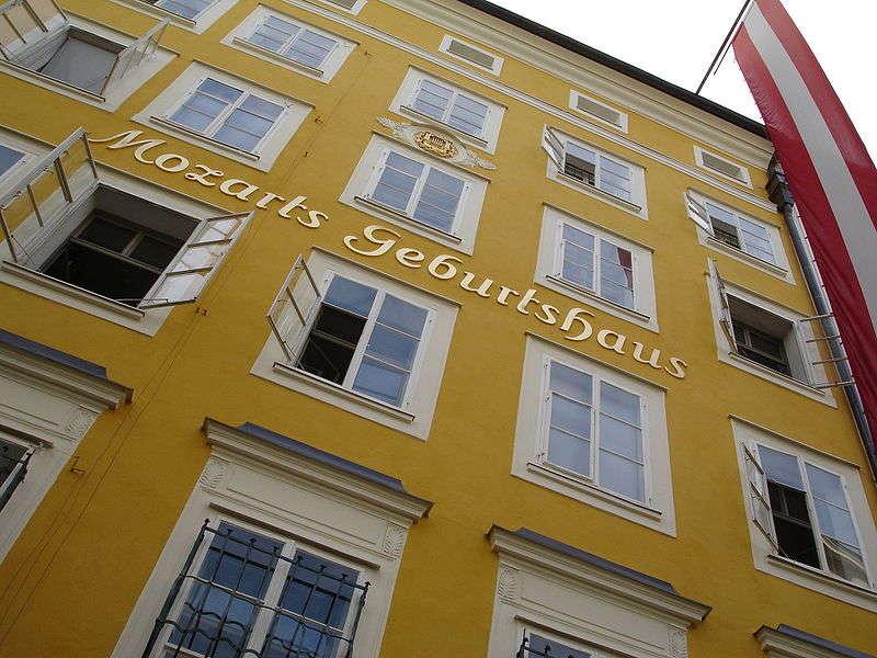Must see di Salisburgo- Casa natale di Mozart