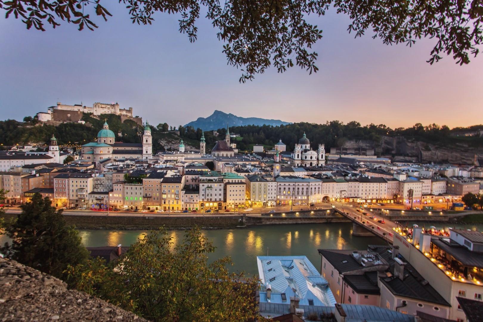 Must see di Salisburgo- Scorcio by night