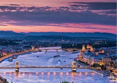 budapest-al-tramonto-danubio