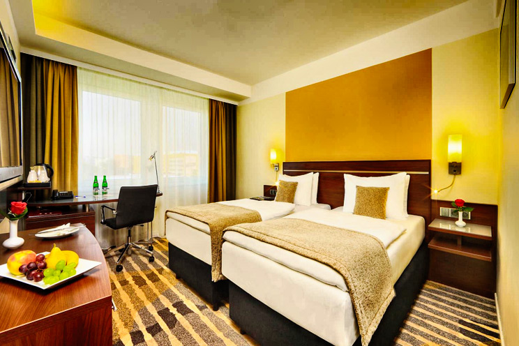 hotel pasqua praga - camera