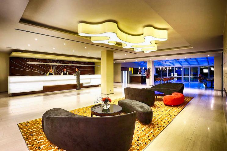 hotel pasqua praga - reception