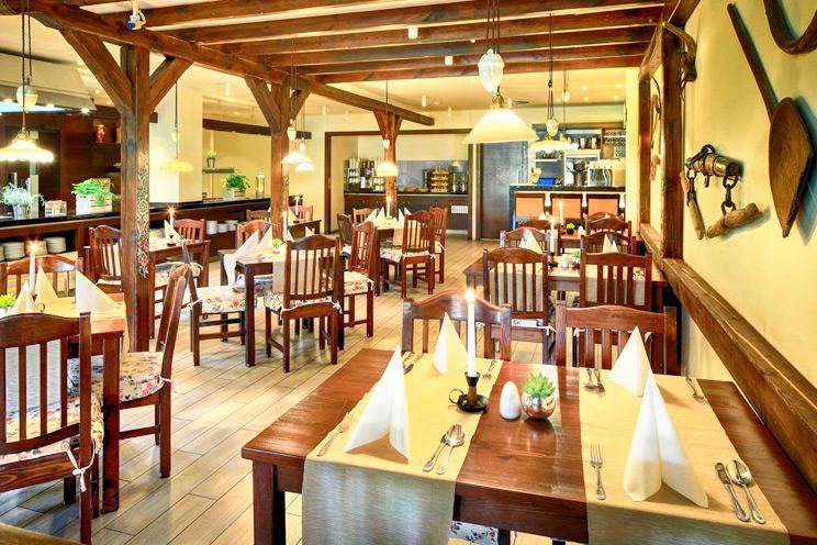 hotel pasqua praga - ristorante