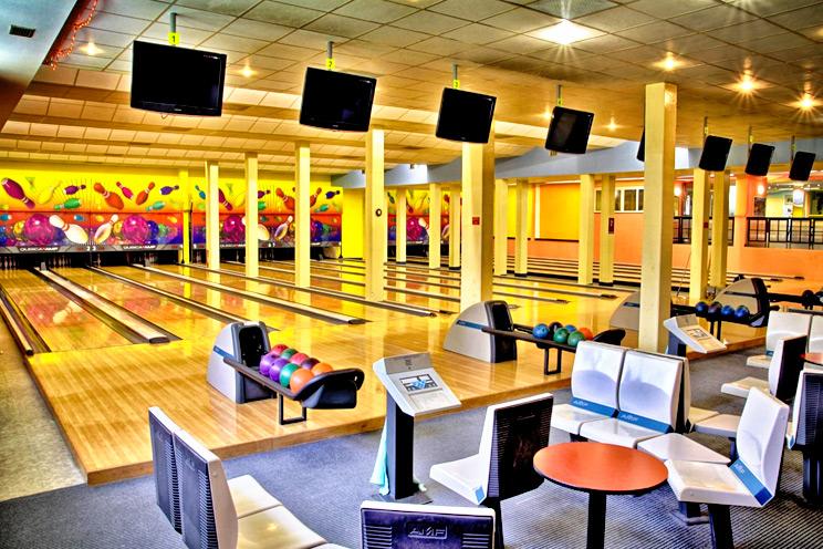 hotel pasqua praga - sala bowling