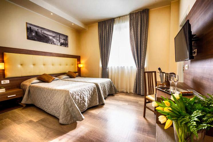 hotel tour enogastronomico - camera da letto
