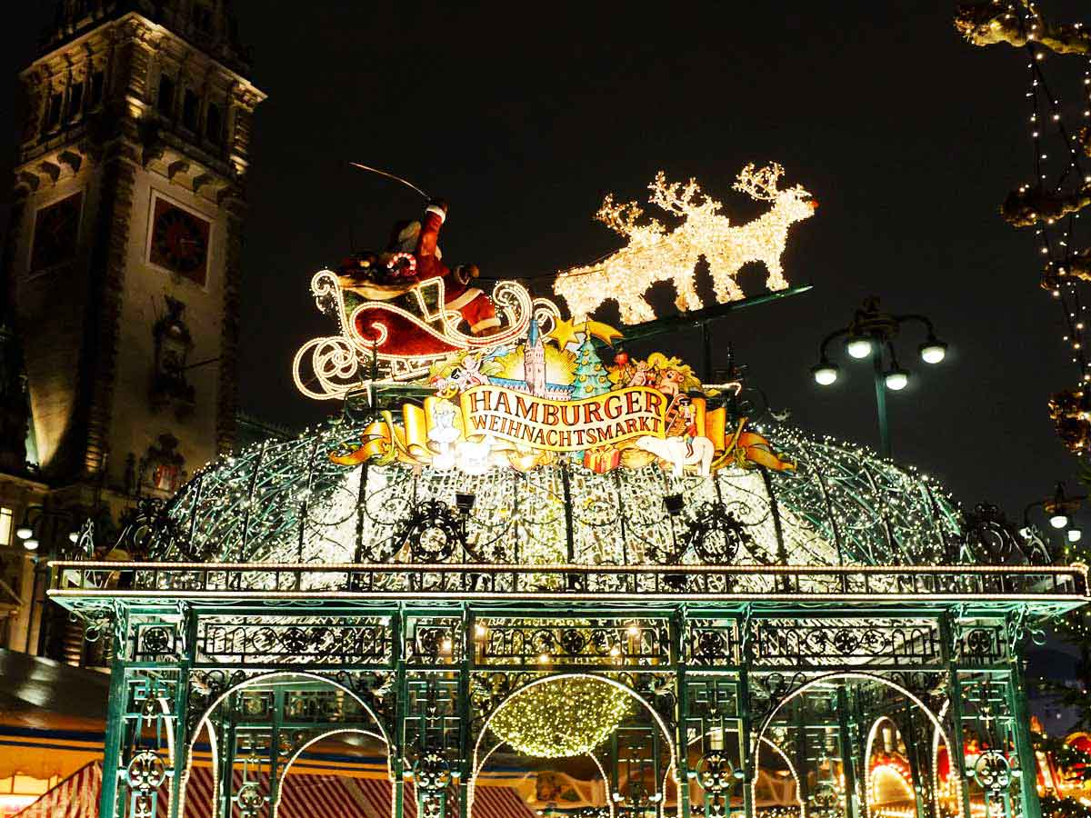 Mercatini Natale Germania del Nord - mercatino natale amburgo babbo natale