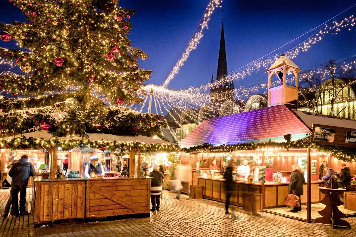 Mercatini di Natale Germania del Nord - mercatino natale lubecca
