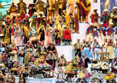 mercatini di natale napoli e Costiera amalfitana - presepe napoletano