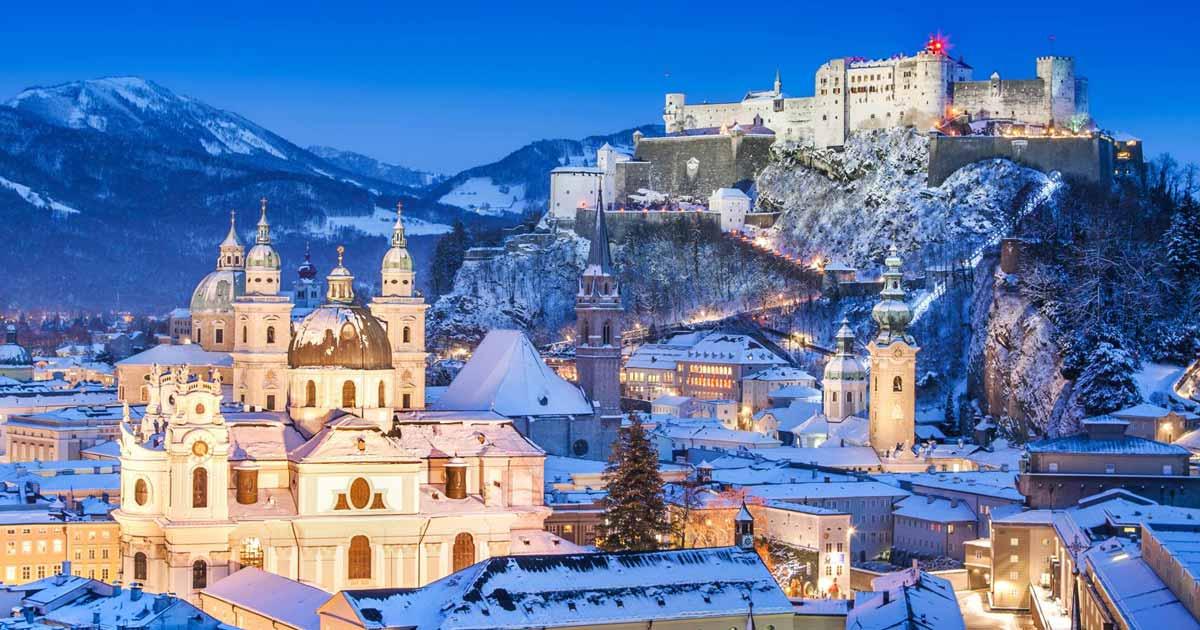 Mercatino Di Natale A Salisburgo Foto.Mercatini Di Natale A Salisburgo