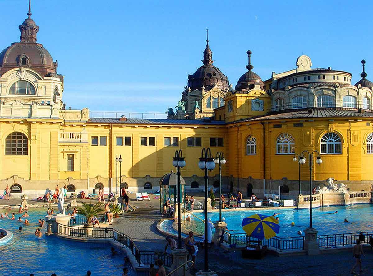 I Bagni Termali Szechenyi, il piacere del relax in Ungheria