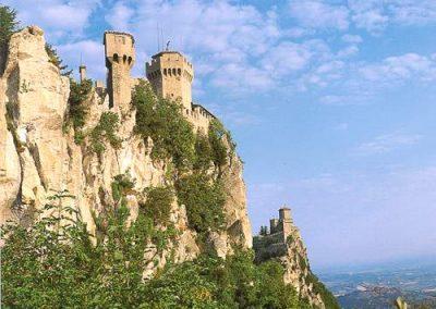 Visitare San Marino- Torri